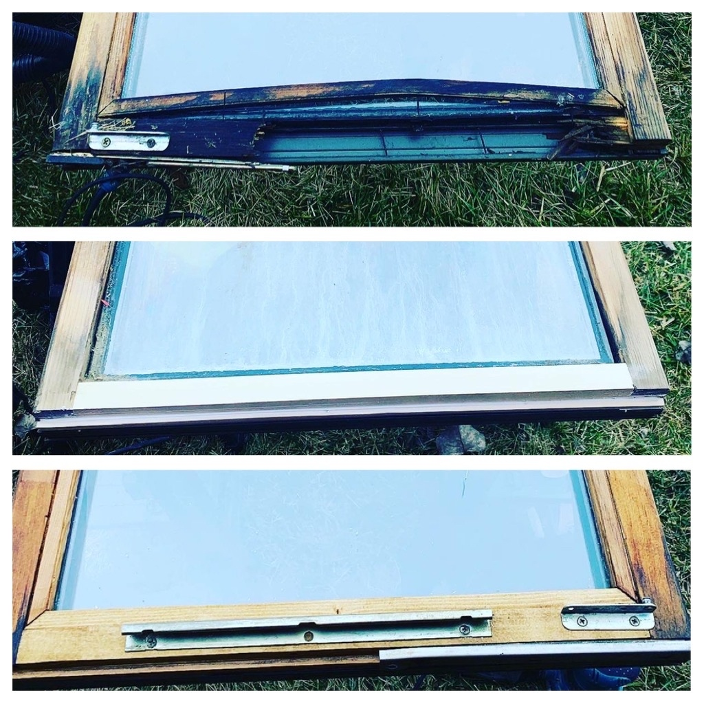 Rotten Window Repair & Glass replacement